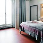 Hotel Rossi Berlin Zimmer barrierefrei Hotelzimmer funktional modern
