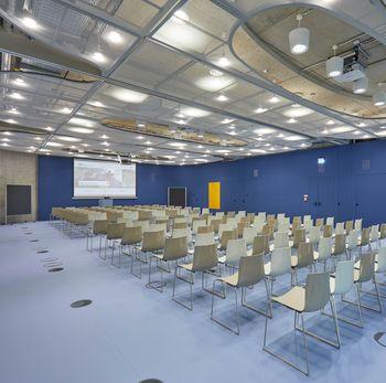 Tagungsraum Plenarsaal Veranstaltungen Seminare Hotel Rossi