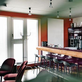 Bar des Vertrauens Dachterrasse Blick Berlin